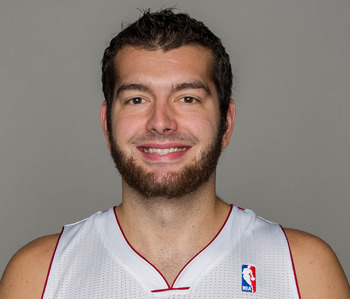 Miami Heat's Josh Harrellson