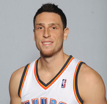 Oklahoma City Thunder's Andy Rautins