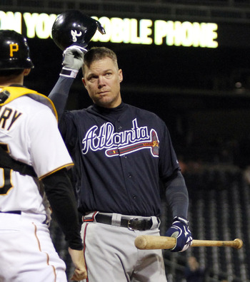 Chipper Jones will do something great before retiring.