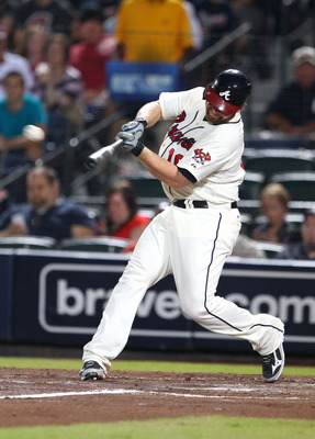 Brian McCann will try to help get the Braves into the NLDS.