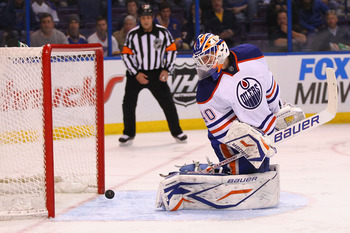 The Oilers are paying big money to see if Devan Dubynk is indeed a No. 1 goalie.