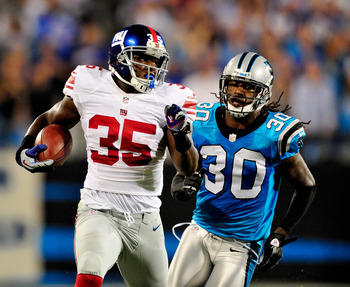 Andre Brown has been a revelation spelling and filling in for Ahmad Bradshaw.