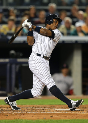 Led by center-fielder Curtis Granderson, the Yankees lead the MLB in home runs