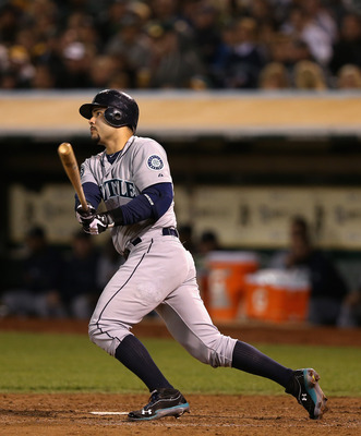 Jesus Montero showed promise in his first season in Seattle