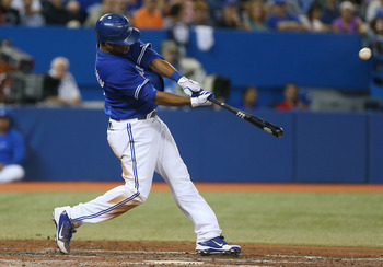 Encarnacion has followed Jose Bautista's footsteps as a surprise power hitter for the Blue Jays.