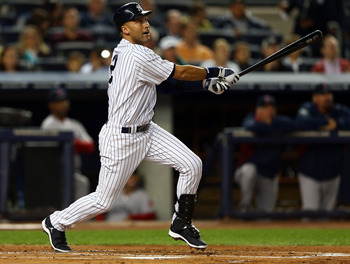At 38 years old, Jeter has more hits than anyone in baseball in 2012.