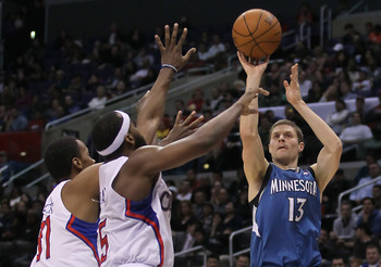 Timberwolves guard Luke Ridnour provides quality depth at both guard positions
