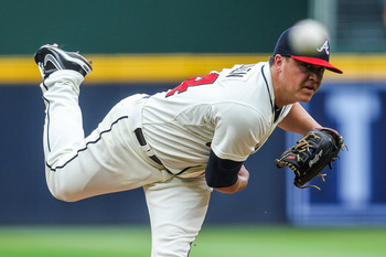 Kris Medlen's shift to the rotation has been a godsend for the Braves in 2012.