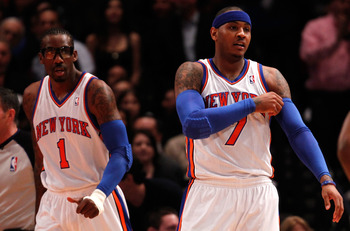 Amar'e and Melo look to lead the Knicks to glory this season.