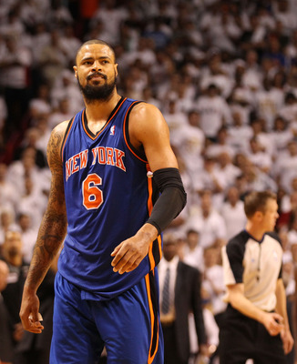 Tyson Chandler, the Defensive Player of the Year, will be the Knicks anchor once again on the defensive side of the ball.