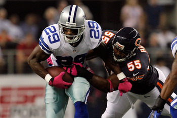 Lance Briggs was third on the team in tackles last night with 6