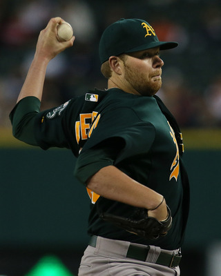 Brett Anderson hasn't pitched much this year but when he is on the mound he is the Athletics' best starter.