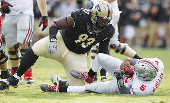 Kawann Short has to make an impact along the defensive line this weekend for the Purdue Boilermakers.