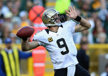Drew Brees is consistently one of the top passing leaders, year in and year out