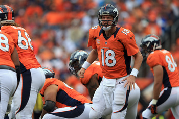 Peyton Manning is slowly beginning to acquaint himself with his new team in Denver