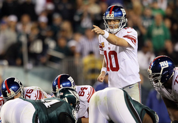 Despite two tough divisional losses, look for Eli to lead the Giants back to the playoffs