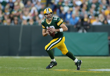 Rodgers has always been a considerable run threat when all options down the field are covered.