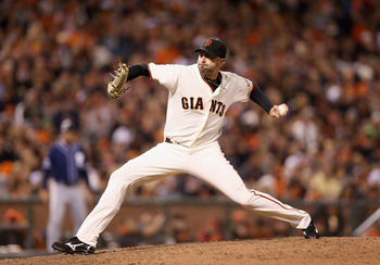 Jeremy Affeldt is in his fourth season with the Giants