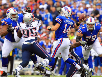 Chandler Jones always seems to be in the QB's vicinity.
