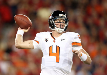 Quarterback Sean Mannion is having a great season for the Beavers.