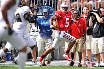 The Buckeyes are at the top of the Big Ten thanks to quarterback Braxton Miller.