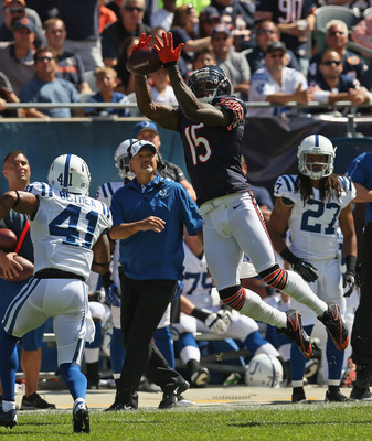 Brandon Marshall can make quarterbacking easy.