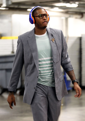 Carmelo has style, but can he be a team player?