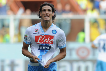 The rumour of Cavani's departure has been simmering for a few months now.
