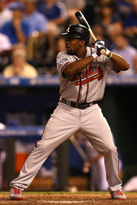 Michael Bourn helped the National League gain home-field advantage in this year's World Series.