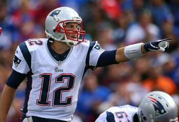 Brady is the commander-in-chief during the no-huddle offense