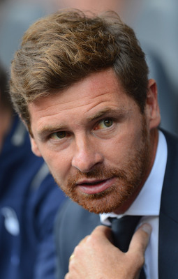 Look at the fire in his eyes. Andres Villas-Boas has been reinvigorated by the Spurs opportunity.
