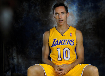 Steve Nash has a lot of tools to work with.