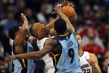Don't mess with Tony Allen on the perimeter.