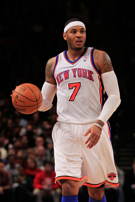 Carmelo Anthony has been under more scrutiny since joining the Knicks.