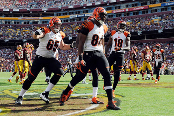 Three TDs in three games, and the Bengals are 3-0. I'd keep riding the A.J. Green Express if I were you.