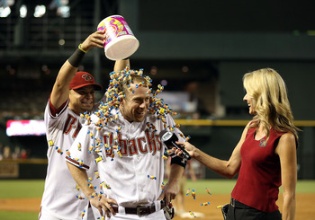 Arizona Diamondbacks second baseman Aaron Hill helped many of his fantasy owners celebrate this season.