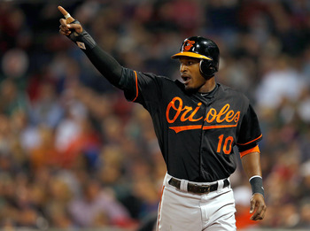Baltimore Orioles outfielder Adam Jones is clearly the No. 1 fantasy option on his team.
