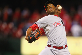 Cincinnati Reds closer Aroldis Chapman is as dominant as they come.