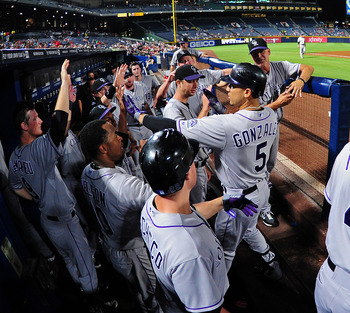 Colorado outfielder Carlos Gonzalez was the only consistent fantasy producer in the Rockies dugout.