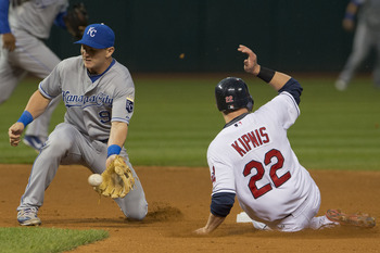 Cleveland Indians second baseman Jason Kipnis ended 2012 on a slide, but his stellar first half earned him this pick on its own.