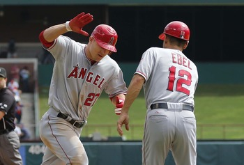 Mike Trout took the fantasy world by storm to lead a team loaded with talent.