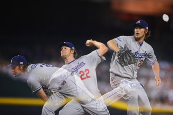 Los Angeles Dodgers pitcher Clayton Kershaw was one of the few arms worth of an early-round investment this spring.