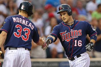 Minnesota Twins outfielder Josh Willingham produces handshakes no matter where he plays.