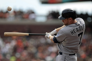 San Diego Padres third baseman Chase Headley broke out in a big way this year.