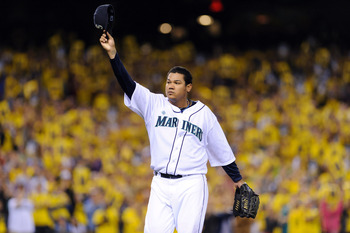 Salute Felix Hernandez on another job well done.
