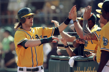 Oakland Atheltics outfielder Josh Reddick helped lead a band of underdogs to an AL West division title.
