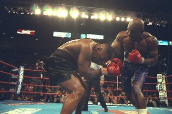 Holyfeld's victory over Tyson stunned virtually everyone in the boxing universe.