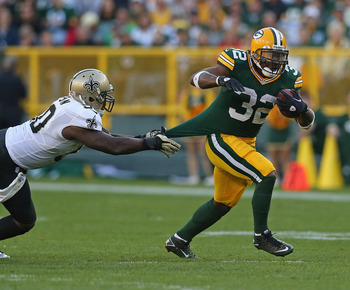 Benson has quickly become a huge part of the Green Bay offense