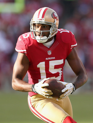 Michael Crabtree leads the 49ers in receptions