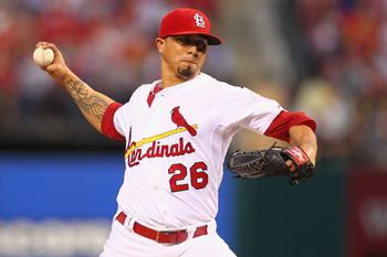 Kyle Lohse has gone 16-3 for the Cardinals this year.